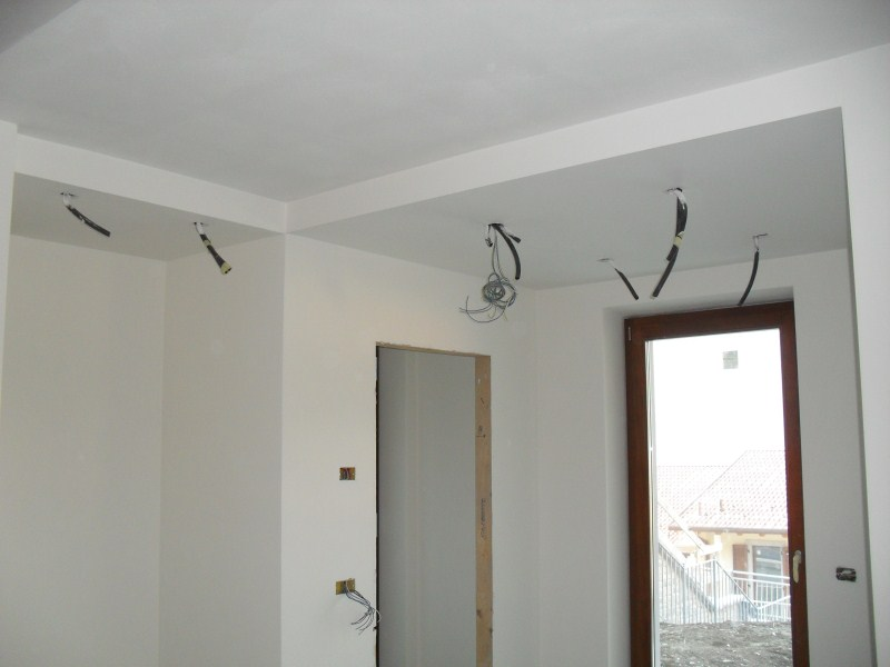 Controsoffitto in cartongesso pratico e moderno decor group